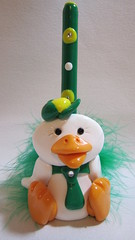duck pen holder (Starky Art) Tags: greatgifts cutegifts giftsforanimallovers polymerclayduck duckpenholder duckpenset duckgifts giftsforcoworkers giftsforducllovers