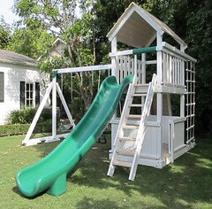 IMG_0849 (Swing Set Solutions) Tags: set play swings vinyl slide structure swing solutions playset polyvinyl