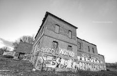 Abandoned (Shulephotography) Tags: old black art blancoynegro graffiti arquitectura nikon arboles artistic creative sigma bn ruinas skate sadow contraste campo otoo heights construccin hdr escombros piedras sule pobreza urbe abandonado fachadas creativa d90 shule shulephotography