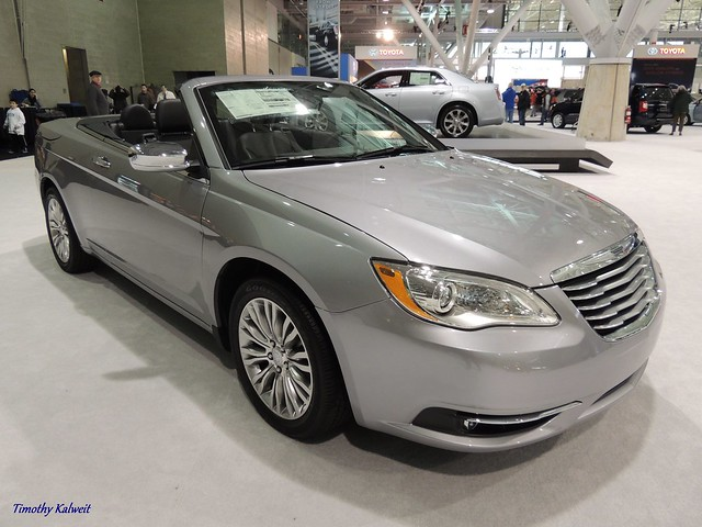 auto show new england car boston silver expo convertible 200 chrysler 2013