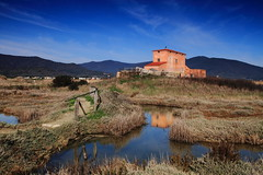riflessi (lucia lf@@) Tags: winter red wild sky italy house home nature water colors canon casa mare foto redhouse acqua grosseto paesaggio maremma padule zonaumida tuscanyt landscapeoftuscany landscapeofmaremma countryofcastiglionedellapescaia