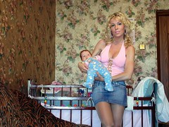 nursery (Blonde is Fun) Tags: cleavage