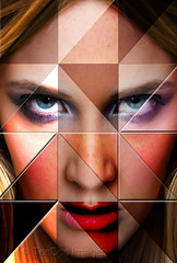 triangles (teedee.) Tags: face triangle image milisa