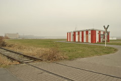 Tempelhof Airport, Berlin (J@ck!) Tags: mist berlin airport railway flughafen tempelhof tempelhofairport flughafentempelhofberlin
