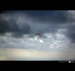 Mediterranean Sea (Daniel Wildi Photography) Tags: light sea sun sports nature clouds flying flight montecarlo monaco rays paragliding paraglider 2013 mediterranen danielwildiphotography icarowildcatte