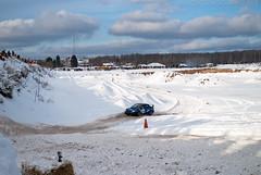 Car # 989 (JoeModz) Tags: snow america cone rally subaru bud budlight drifting drift sno subie conekiller