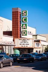Savannah-8 (King_of_Games) Tags: ga georgia movie marquee theater theatre savannah scad carygrant savannahcollegeofartanddesign hisgirlfriday willking willbking scadcinemacircle
