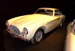Ferrari blanche (gueguette80 ... non voyant pour une dure indte) Tags: auto old paris cars italian ferrari salon autos blanche anciennes portedeversailles retromobile 2013 rtromobile italiennes