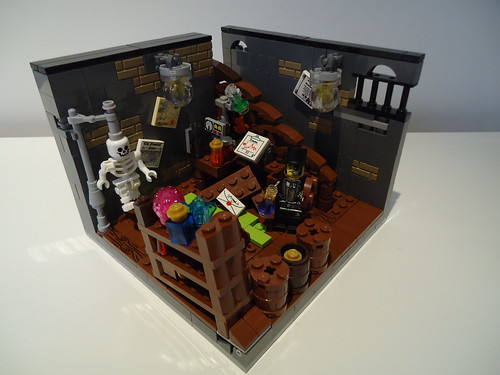 Dr Jekyll's lab transformation 8