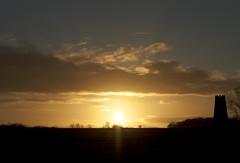 Sunset 14th February 2013 (mark_fr) Tags: york bridge sunset sea sky sun set sunrise volcano maple view market yorkshire hill north estuary vale east dust rise volcanic mere beverley humber hornsea weighton beeford lissett molescroft