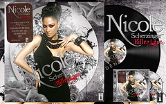 Nicole Scherzinger - Killer Love (Dark Edition) (G O L D E N) Tags: love dark golden fan nicole artwork made cover edition scherzinger kilerr
