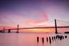 Bay Bridge Sunrise (anishsid) Tags: sanfrancisco california longexposure sunrise pier nikon day tokina1224 tokina clear baybridge embarcadero bayarea siliconvalley bluehour 1224mm gnd pier14 ndgrad leefilters flickr10 d7000 nikond7000