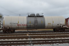RAIL KING on UTLX 647230 20130112 Meridian MS (rmccallay) Tags: graffiti tankcar utlx railking