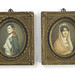 166. Miniature Portaits of Napoleon and Josephine