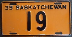 1939 SASKATCHEWAN ---LICENSE PLATE #19 (woody1778a) Tags: world auto canada cars car sign vintage edmonton photos tag woody plate tags licenseplate collection number photographs license plates sk saskatchewan foreign 19 1939 numberplate licenseplates numberplates licenses cartag carplate carplates autotags cartags autotag foreigns pl8s worldplates worldplate foreignplates platetag saskhistory