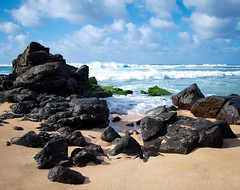 north shore (Natalie_Ward) Tags: ocean vacation sun beach landscape hawaii photo rocks nw oahu sunny olympus whippedcream northshore lightroom e420 olympuscamera bellsisters lightroompreset lightroom3 olympuse420 nwphotography 1442mmlens natalieward thebellsisters bellsisterspresets nataliewardphotography