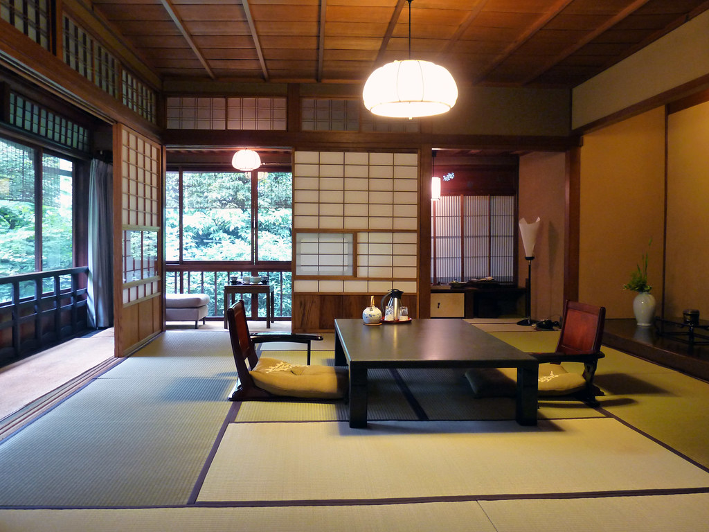 ryokan l 39 auberge traditionnelle japonaise dozodomo. Black Bedroom Furniture Sets. Home Design Ideas