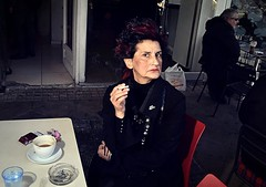 (Costas Lycavittos) Tags: street sb600 streetphotography athens streetportraits жена lycavittos μοναστηράκι λυκαβηττόσ costaslycavittos flashonface nikkor20mmaismanual представисичесижена nikond5100