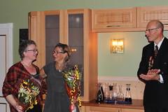 """150 år 2012. Frid og Julie får ros og takk for den gode maten som ble servert på jubileumsfesten • <a style=""""font-size:0.8em;"""" href=""""http://www.flickr.com/photos/93335972@N07/8515963857/"""" target=""""_blank"""">View on Flickr</a>"""