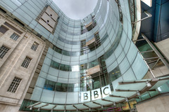 The Beeb - Explored (Sean Batten) Tags: city uk england urban london glass lines architecture nikon cityscape unitedkingdom steel curves bbc regentsstreet d800 bbcbroadcastinghouse 1424