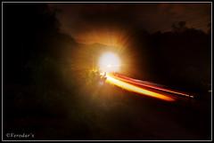 Gate way to Haven (VERODAR) Tags: light car night nikon village trails highland sarawak borneo kampung kuching bidayuh sridar giam nikond5000 verodar veronicasridar