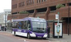 Purple Solo on the Sunday 194 (bobsmithgl100) Tags: bus surrey solo sr camberley feh optare route194 pembrokebroadway courtneybuses yj62 yj62feh