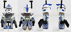 Custom LEGO Phase 1 Arc Trooper Fives from Season 3 (JPO97Studios) Tags: 3 trooper season star 1 lego arc pistol wars clone phase fives dc17 mmcb jpocustoms jpo97studios