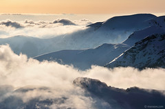 mountains of my dream (.:: Maya ::.) Tags: winter mist snow mountains clouds bulgaria stara   planina