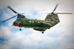 """HKP 4C """"Yngve 72"""" (hjakse) Tags: airshow sverige f3 fc linköping flugtag malmslätt vertol yngve flygvapnet försvarsmakten flyguppvisning y72 04072 hkp4 kv107 svfm f13m östergötlandslän huvudflygdag"""
