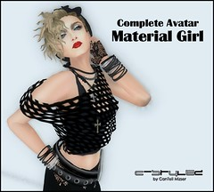 C-Stylez - Complete Avatar - Madonna (C-Music2012) Tags: madonna avatar secondlife rockstars borderline materialgirl luckystar completeavatars
