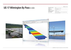 US 17 Wilmington By Pass in USA (MIDAS IT) Tags: bridge usa by project us pass cable structure application civil pont 17 wilmington dart stayed midas voute analysis poutre suspendu ouvrage analyse haubant structurelle