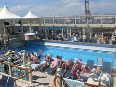 Poolside (Sandz2710) Tags: cruise sea vacation holiday fun restaurant sailing ship theatre cruising sail posh suite canaries exciting