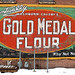 Gold Medal Flour ad on the wall of Colesante's on Factory St. in Watertown. Photo: Nora Flaherty