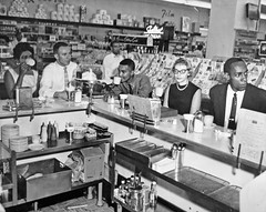 The Best Cup of Coffee: Arlington, Virginia 1960 (washington_area_spark) Tags: black history arlington paul restaurant virginia protest diamond demonstration henry va africanamerican dietrich civilrights integration arrest dion laurence 1960 integrated segregation sitin lunchcounter cherrydale drugfair