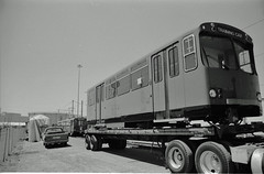 Trolley Deliveries (SDMTS) Tags: train u2 sandiego metro trolley siemens tram transit lightrail streetcar 1980s lrt mts lrv sandiegotrolley metropolitantransitsystem siemensduewag