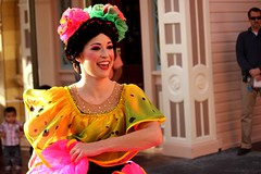 Flamenco Dancer (ourdisneydays) Tags: disneyland disney flamencodancer soundsational mickeyssoundsationalparade soundsationalparade donaldsfiestafantastico