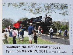 Published Photo! (Allyson Praytor) Tags: chattanooga published tennessee southern 630 trainsmagazine tennesseevalleyrailroadmuseum allysonleighphotography