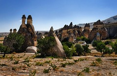 (Sotto Scatto) Tags: panorama architecture trekking turkey landscape rocks vista cave sight exploration architettura chimneys paesaggio cappadocia grotta monastero anatolia goreme turchia kapadokya capadocia fairychimneys pasabag esploratore esplorazione caminidellefate