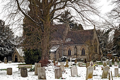Leverstock Green (n.j.coomber) Tags: snow history architecture interestingness interesting graveyards churches churchyards hertfordshire holytrinity hemelhempstead apictureofbritain leverstockgreen beautifulbritain