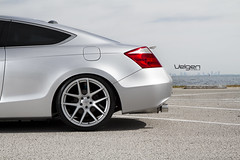 Honda Accord Coupe 8thGen on VMB5 Matte Silver (VelgenWheels) Tags: pictures auto usa canada cars japan honda accord silver yahoo google flickr suspension russia low wheels deep megan rims 2008 2009 coupe lowered bing jdm concave 2010 slammed coilovers velgen 8thgen my8thgen velgenwheels