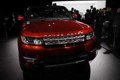 REVEALED - Preparations for the reveal event of the all-new Range Rover Sport (Land Rover Global) Tags: rangeroversport reveal danielcraig newrangeroversport 2014rangeroversport allnewrangeroversport