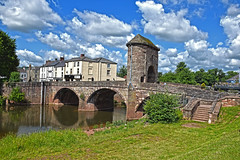 Monmouth (Jainbow) Tags: monmouth monnow bridge river wales jainbow