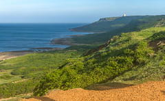 Kenting Peninsula from Fengchuisha (arkeldiary) Tags: canon g16 eos 100d mountains forests trees nature sky landscape coast sea sand beaches clouds sunrise wildlife insects butterflies corals reefs rocks waves horizons seascapes coastallandscapes explore exploration travel