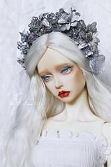 New floral crowns (AyuAna) Tags: flower ball design doll handmade wreath crown bjd dollfie headdress jointed ayuana
