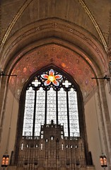 Rose window (marensr) Tags: rockefeller memorial chapel uchicago university chicago gothic architecture rose windowstained glass