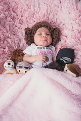 The Force Awakens (Brian Koprowski) Tags: baby portrait starwars alienbee strobist pink nikon d610 briankoprowski