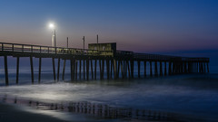 Beach Sunrise (PMillera4) Tags: beachsunrise beach sunrise dawn jerseyshore newjersey avalon avalonnj fishingpier