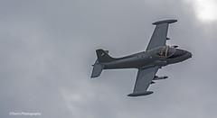 Strikemaster Aircraft (tomdavies19) Tags: planes jets red fast gyro copter parachute raf display aircraft slow smoke air show airshow wales north rhyl denbighshire
