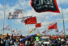 Kite Festival 2016   Padang Galak, Bali (frata60) Tags: nikon v1 1030mm vr padanggalak bali sanur kiten vlieger people kleur colors vlag bendera indo indonesia indon indonesi