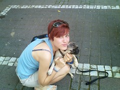 DSC00100 (1) (MKGirl96) Tags: sis pug redhead streets germany puppy dog